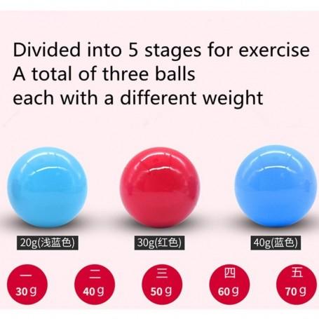 Balls in vagina